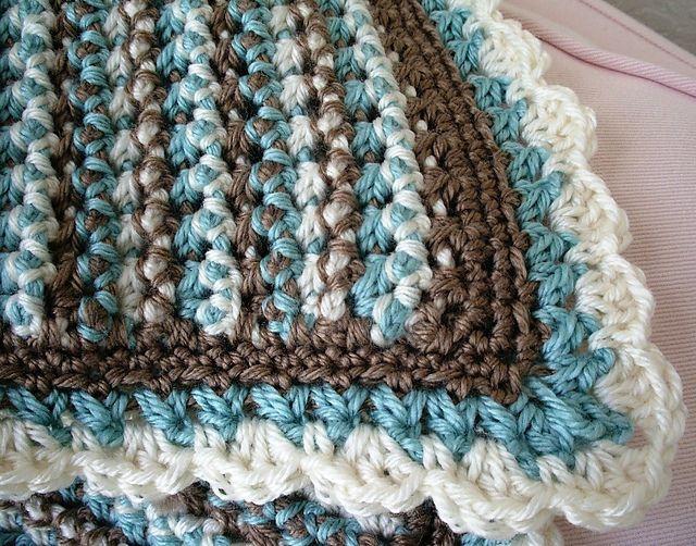 Single Crochet Borders For Blankets