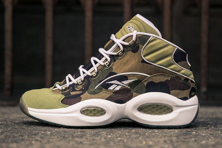 BAPE and mita sneakers' Limited Edition Reebok Question Mid