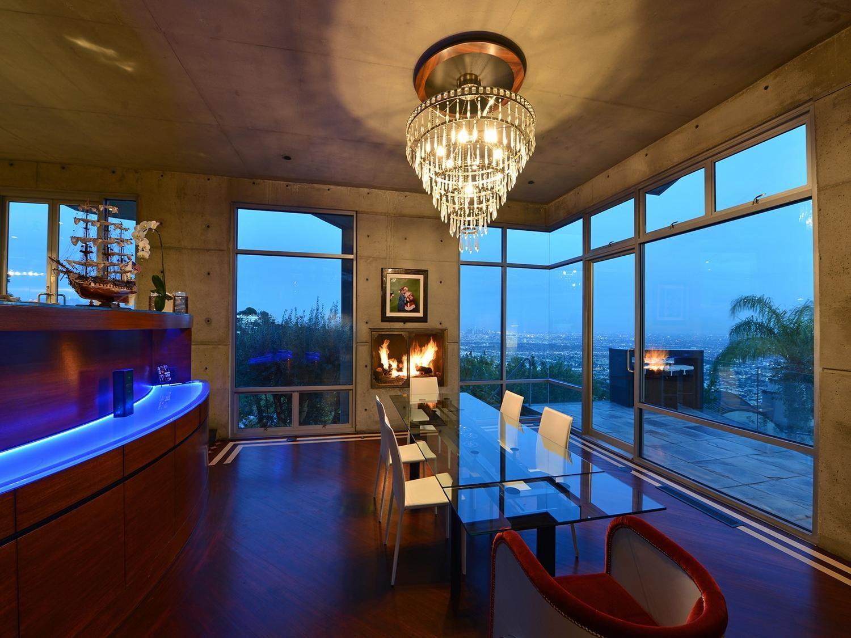 Bauhaus Style Mansion In Hollywood Hills.