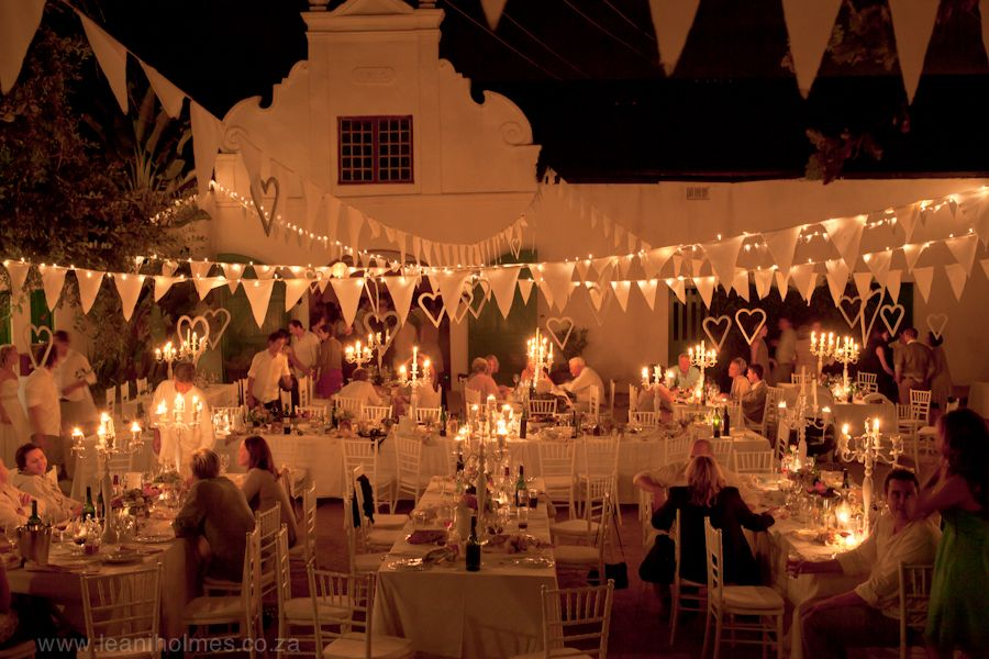 south african wedding with cape dutch building
