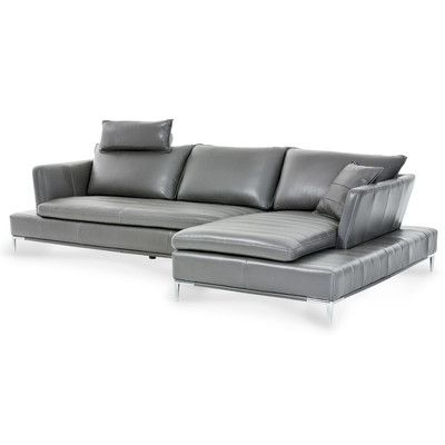 Awe Inspiring Michael Amini Mia Bella Sectional Products Leather Download Free Architecture Designs Itiscsunscenecom