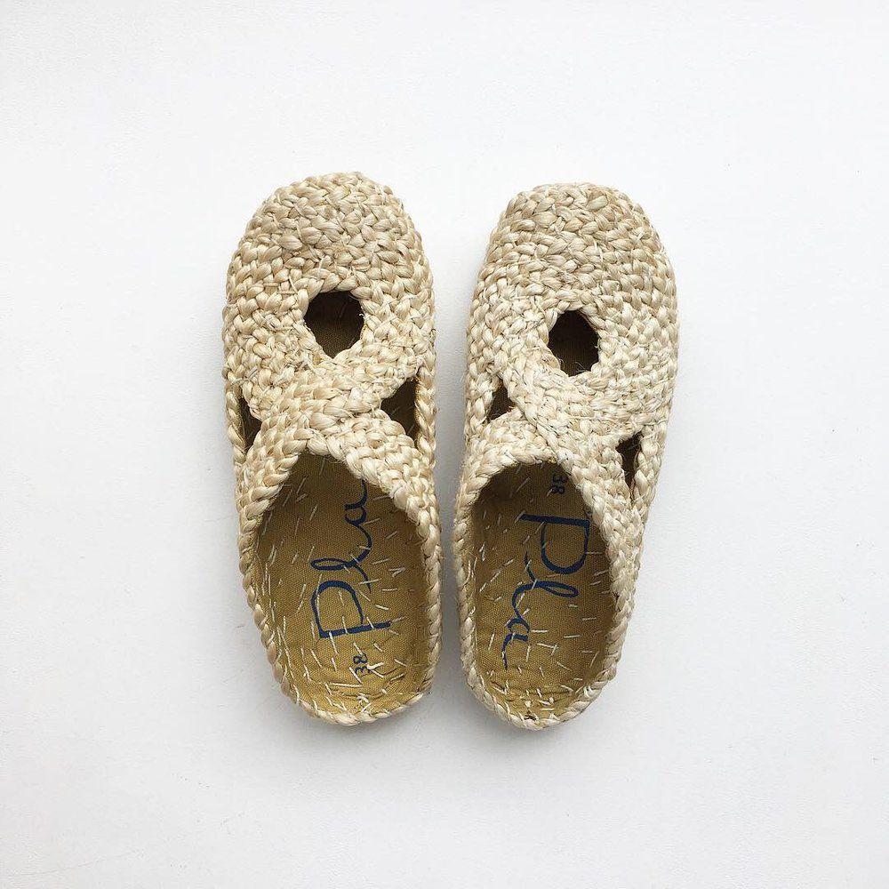 Jute Sandal, Natural | Beautiful