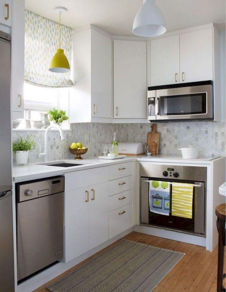 65 BRIGHT SMALL APARTMENT KITCHEN DECOR IDEAS dream homes
