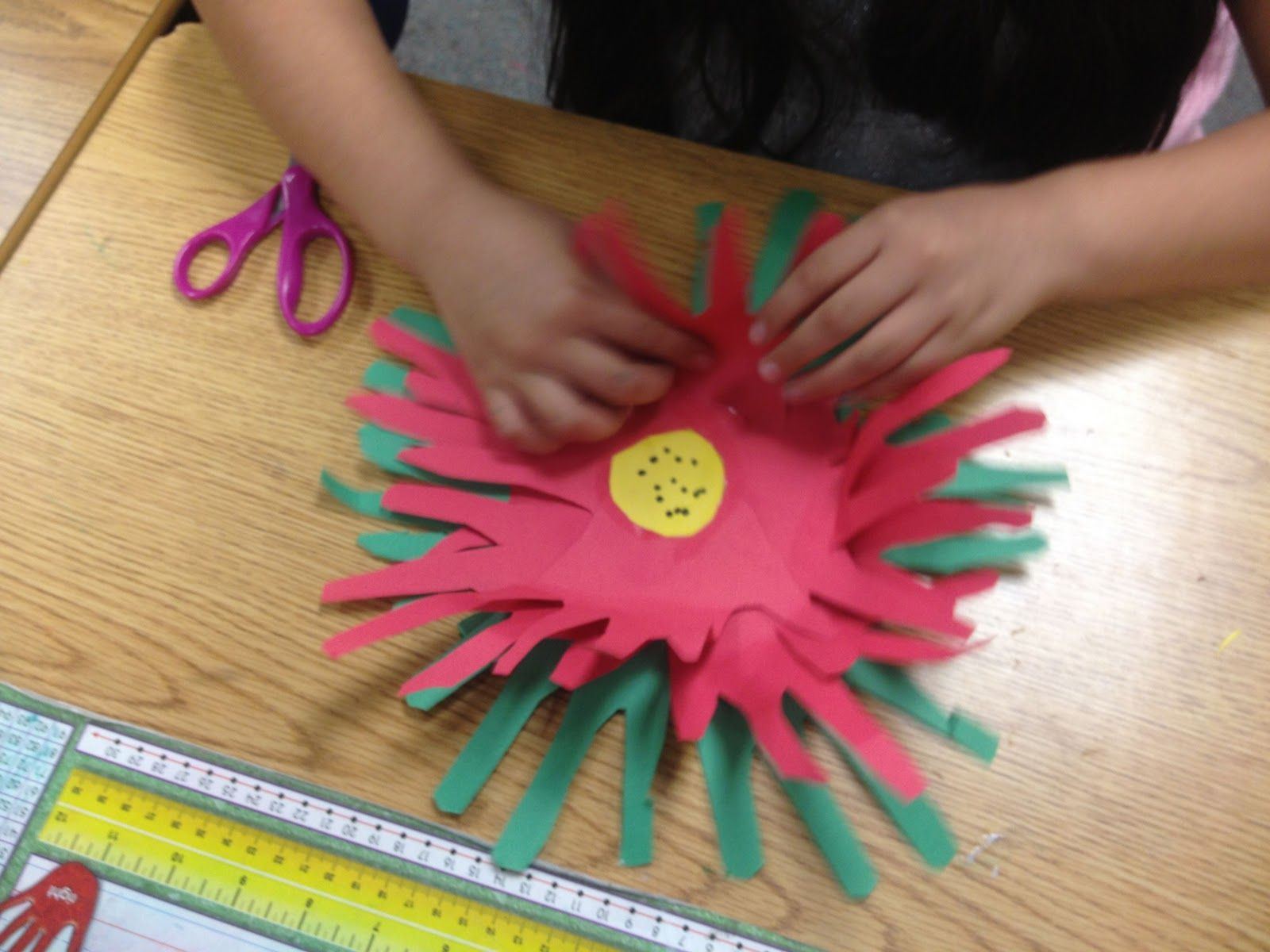 Activity Paper Poinsettias From The Lesson Plan Diva Create Layered