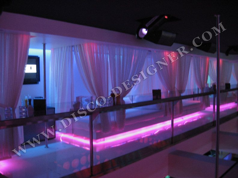 Lighted part of stage good idea for middle stage | Lounge decor ...