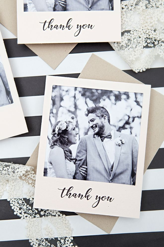 Chalk Style and Lights Watercolour Personalized Wedding Thank You Cards