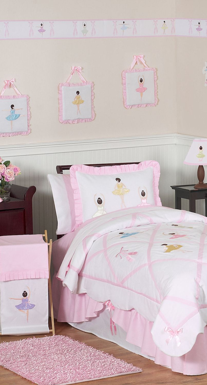 Best Little Girl S Ballerina Bedding Dormitorios Recámaras 400 x 300