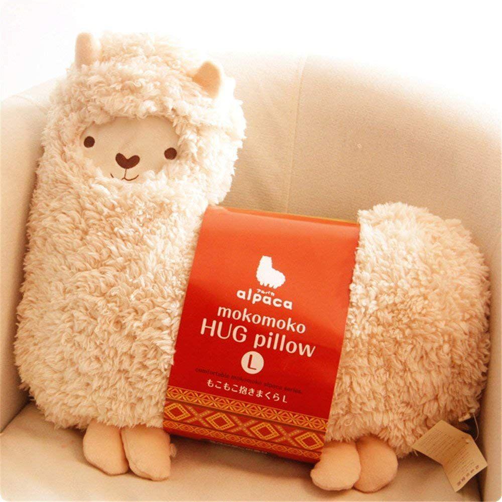 Acycee Aunt Merry Mokomoko Llama Alpaca Hug Pillow Cushion