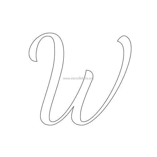 Free Printable Alphabet Stencil Letters Template Stencils Letter