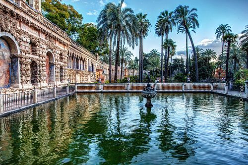 Magic Place Real Alcazar De Sevilla Places Around The World Countries To Visit Spain