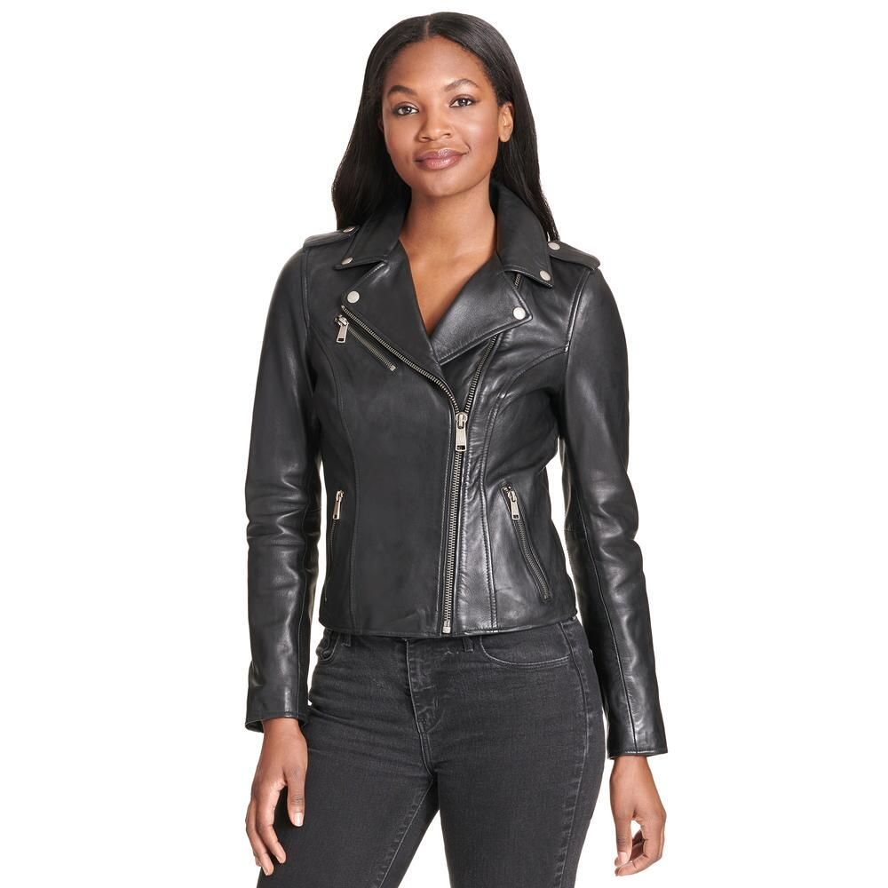Wilsons Leather Asymmetrical Leather Jacket W Snap Details 179 99 Our P Asymmetrical Leather Jacket Leather Jacket Zipped Leather Jacket [ 1000 x 1000 Pixel ]
