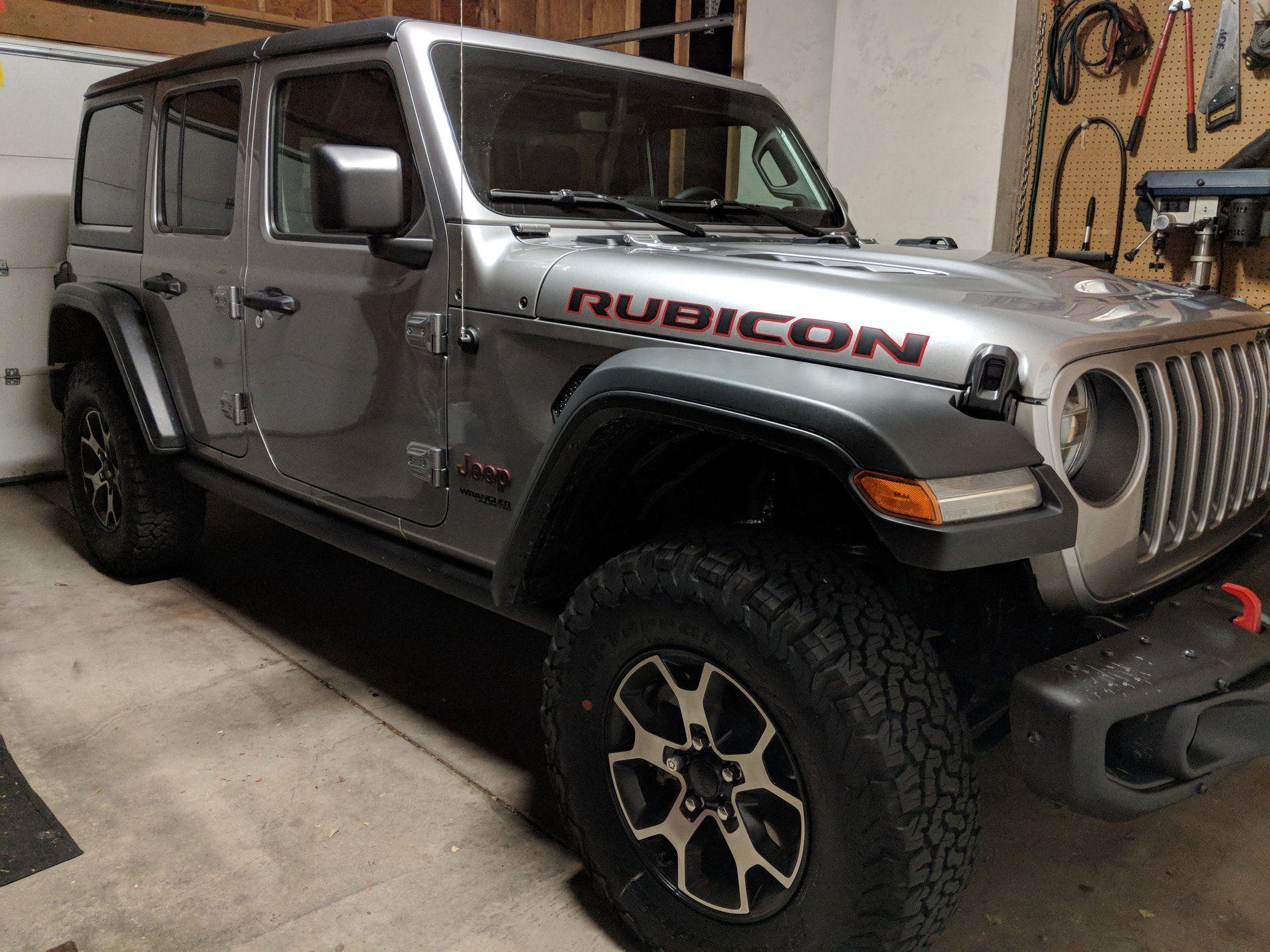 Jeep Jl Jeep Rubicon Jeep Wrangler Jl Sting Gray Jeep Warn