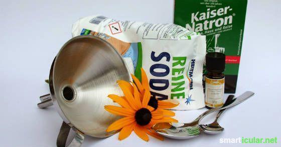 Geschirrspülmittel preiswert selbst herstellen