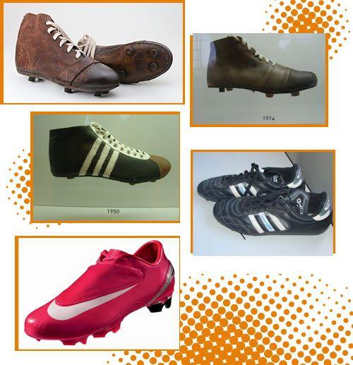 Evolucao Das Chuteiras No Futebol Sport Shoes Cleats Shoes