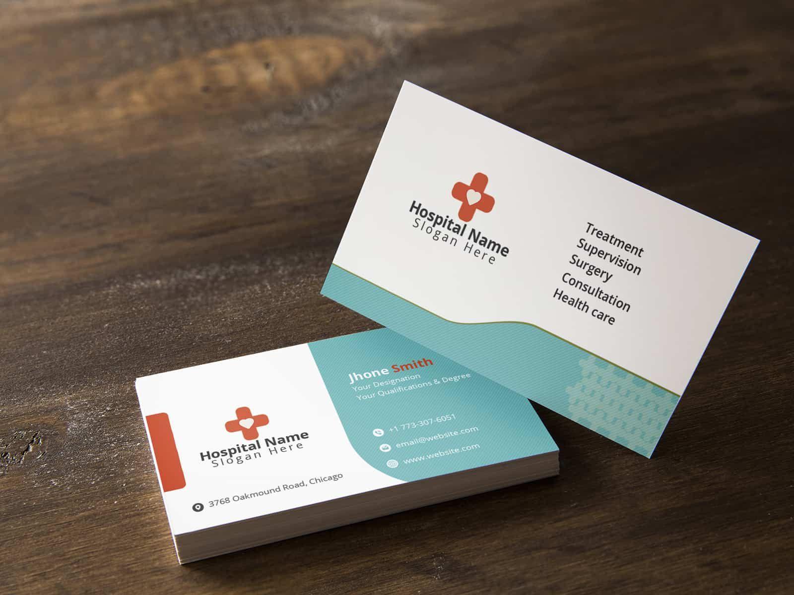 Medical Health Care Business Card Medical Business Card Medical Health Care Health Care