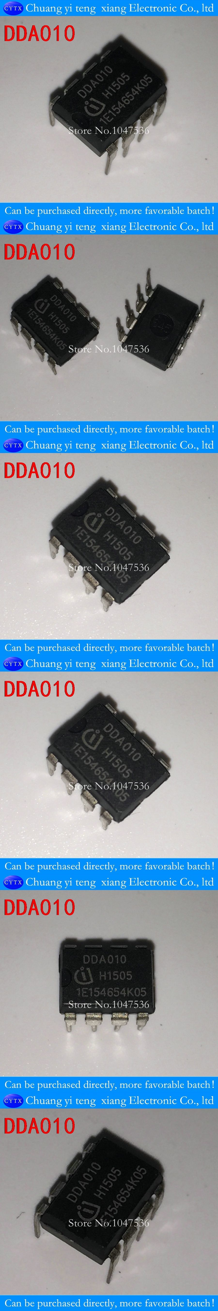 Dda010 Dip8 Management Chip Ic Integrated Circuit 20pcs Lot Active Icintegrated Component Electronic