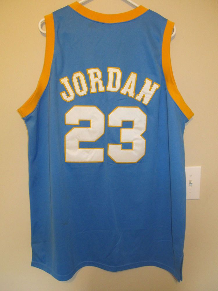 9222d8fa08b Michael Jordan 23 Laney Original High School Legends Basketball Jersey 54  2XL #HighScholLegends #ChicagoBulls