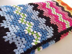 Receitas de Crochet: Maravilhosa colcha de crochet
