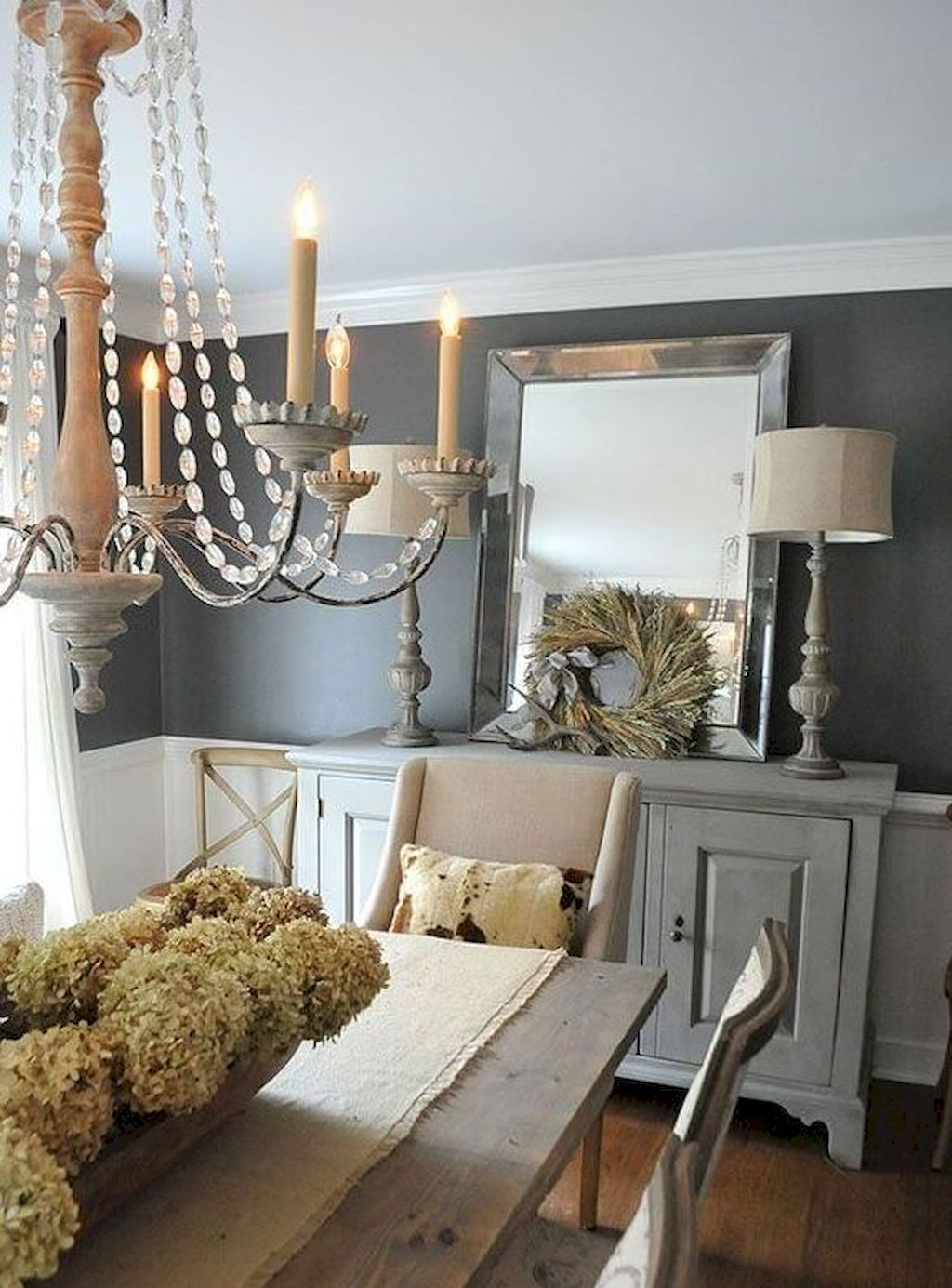 80 Lasting Farmhouse Dining Room Decor Ideas