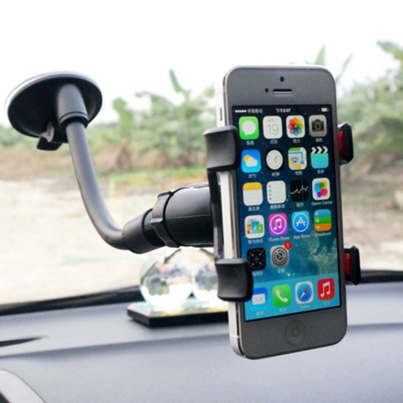 Universal 360°Rotating Car Windshield Mount Holder Stand Bracket for ...