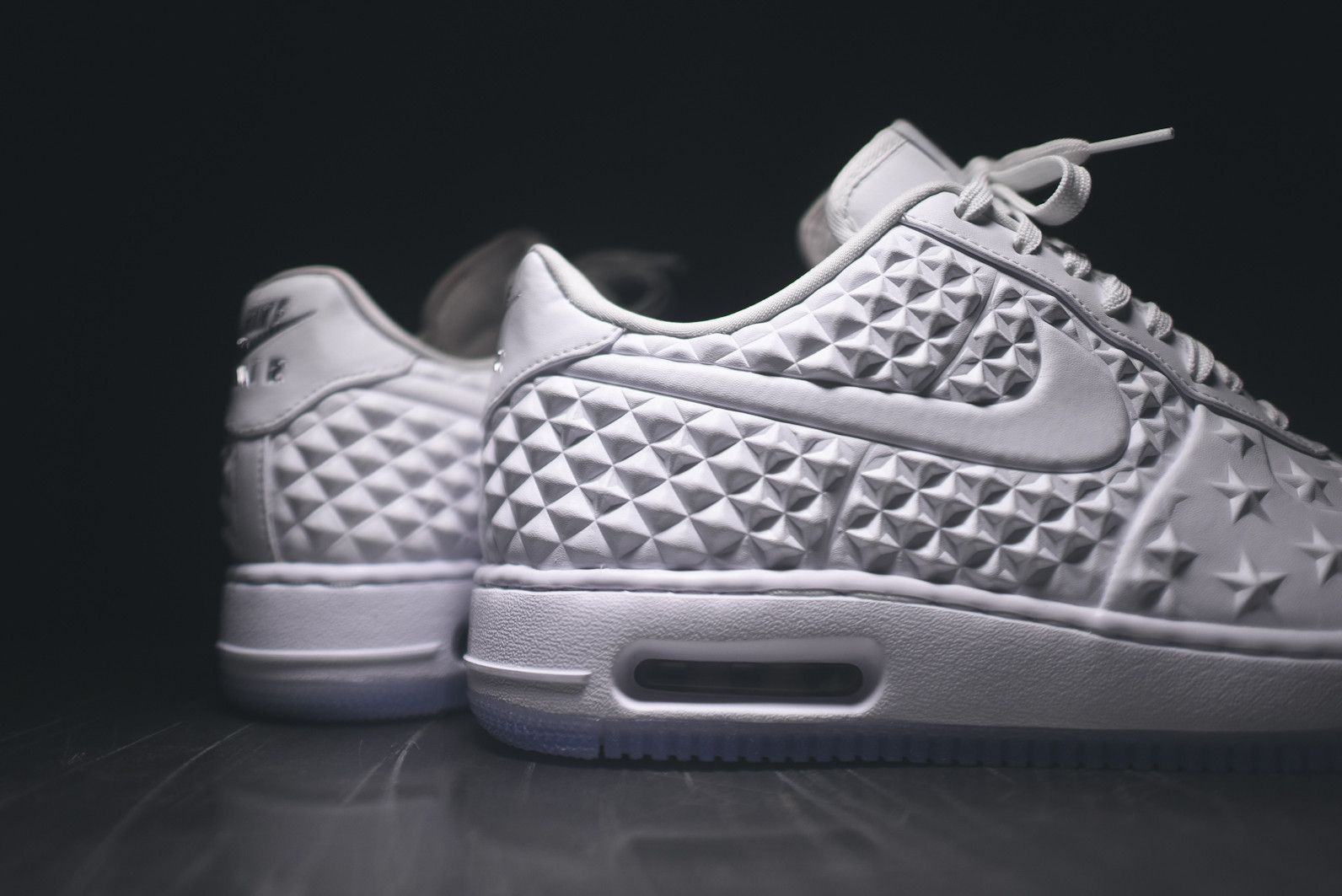 online store bb68f d24d1 ... ireland nike air force 1 elite as qs white chrome 08a65 b131d
