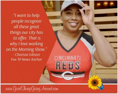 Fox 19 Morning News Anchor Charisse Gibson talks about her