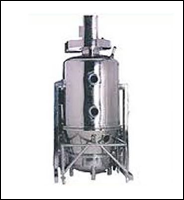 Fluid Bed Dryer for Drying for fine particles (Range  5 KG TO 500 Kg). Available in steam Heated and Electric Heated