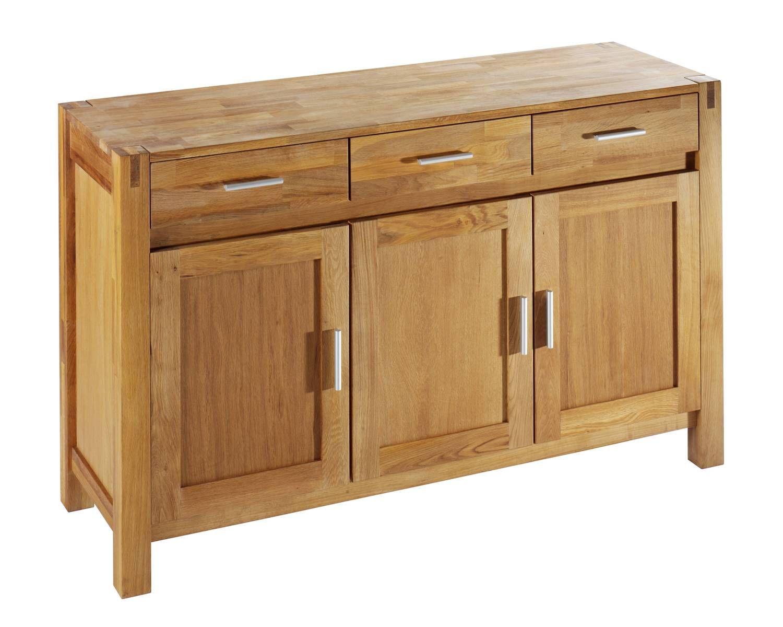 anrichte »royal oak« (3-türig) - anrichten - esszimmer & küche ... - Küchen Dänisches Bettenlager