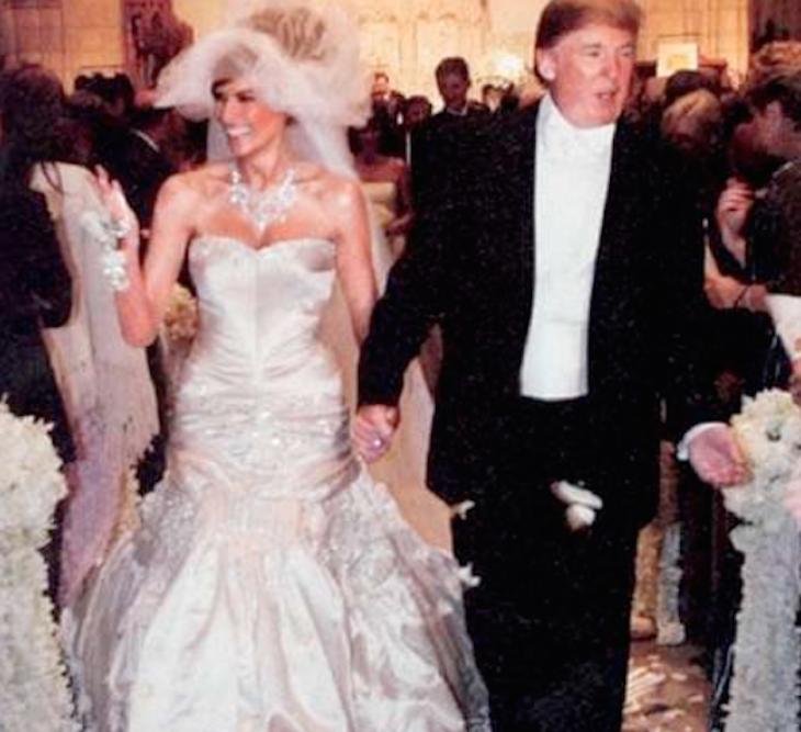 Donald Trump And Melania Wedding: Famous Wedding Dresses, Expensive