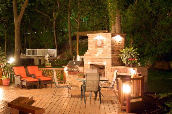 outdoor deck fireplaces. fireplace on deck  Decks Gazebos Pergolas Art ideas