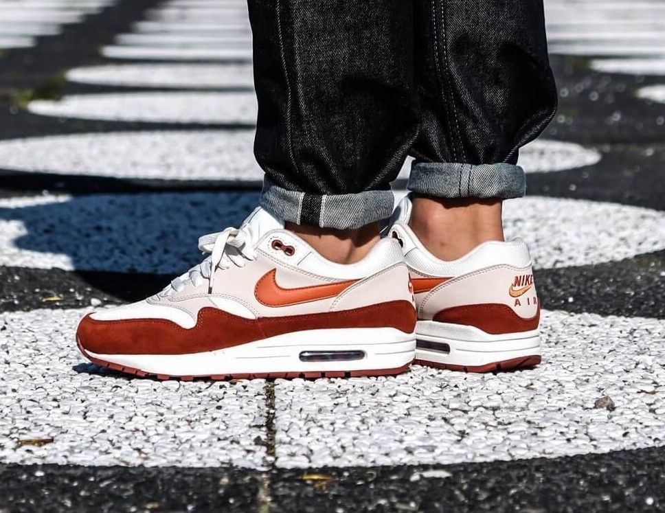 new concept 3aeb8 0533d ATMOS X NIKE AIR MAX 1 AH8145-104 SHOE SAIL VINTAGE CORAL MARS STONE MEN S   fashion  clothing  shoes  accessories  mensshoes  athleticshoes (ebay link)
