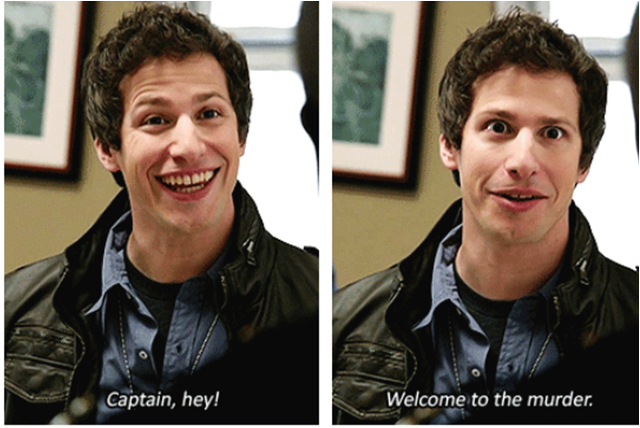 Welcome to the murder ~ Brooklyn Nine-Nine Quotes ~ Season 1, Episode 1: Pilot #amusementphile