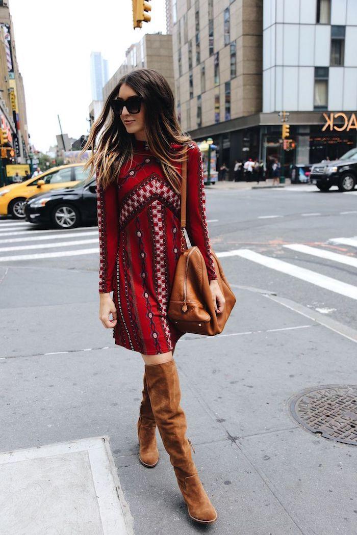 2452551afd3 ▷ 1001 + looks parfaits d automne-hiver avec une tenue bohème chic ...