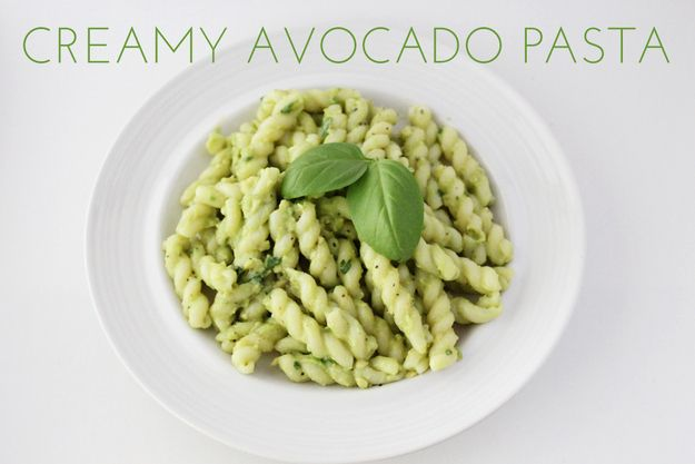 Creamy Avocado Pasta | 29 Pasta Salads To Chill Out With This Summer