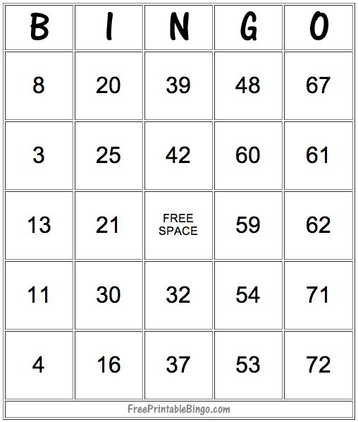 49 Printable Bingo Card Templates Free Printable Bingo Cards Bingo Card Template Free Bingo Cards