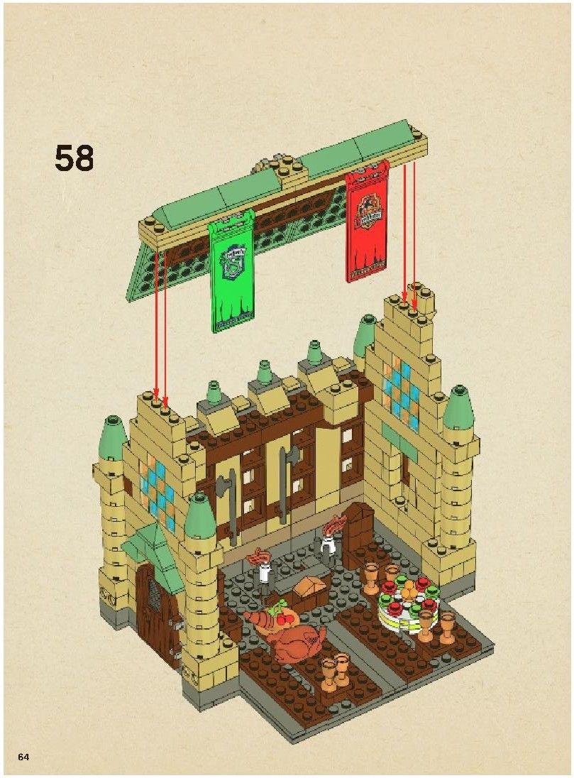 Harry Potter Hogwarts Castle Lego 4842 Lego Sets And