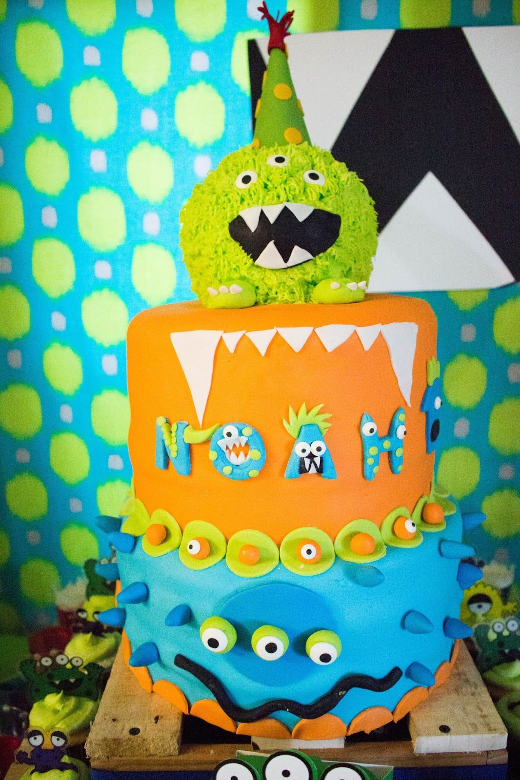 New Mom in a New Era A Monster Bash To Ring In Noahs First Year
