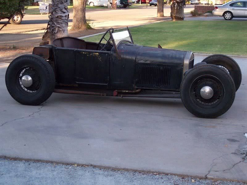 1926 Model T, chopped & leaned windshield and period wheels. | Rat ...