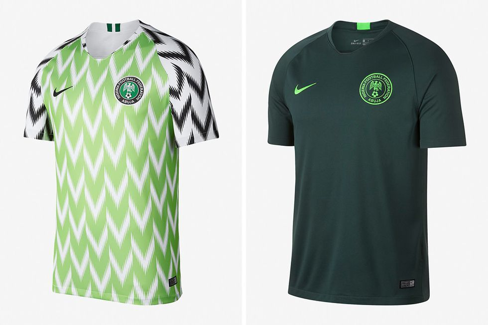 242a8f462c0 Why There s So Much Buzz About Nigeria s World Cup Kit