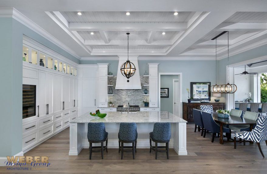 Transitional West In s Style Home Plan Waterfront Wonderland