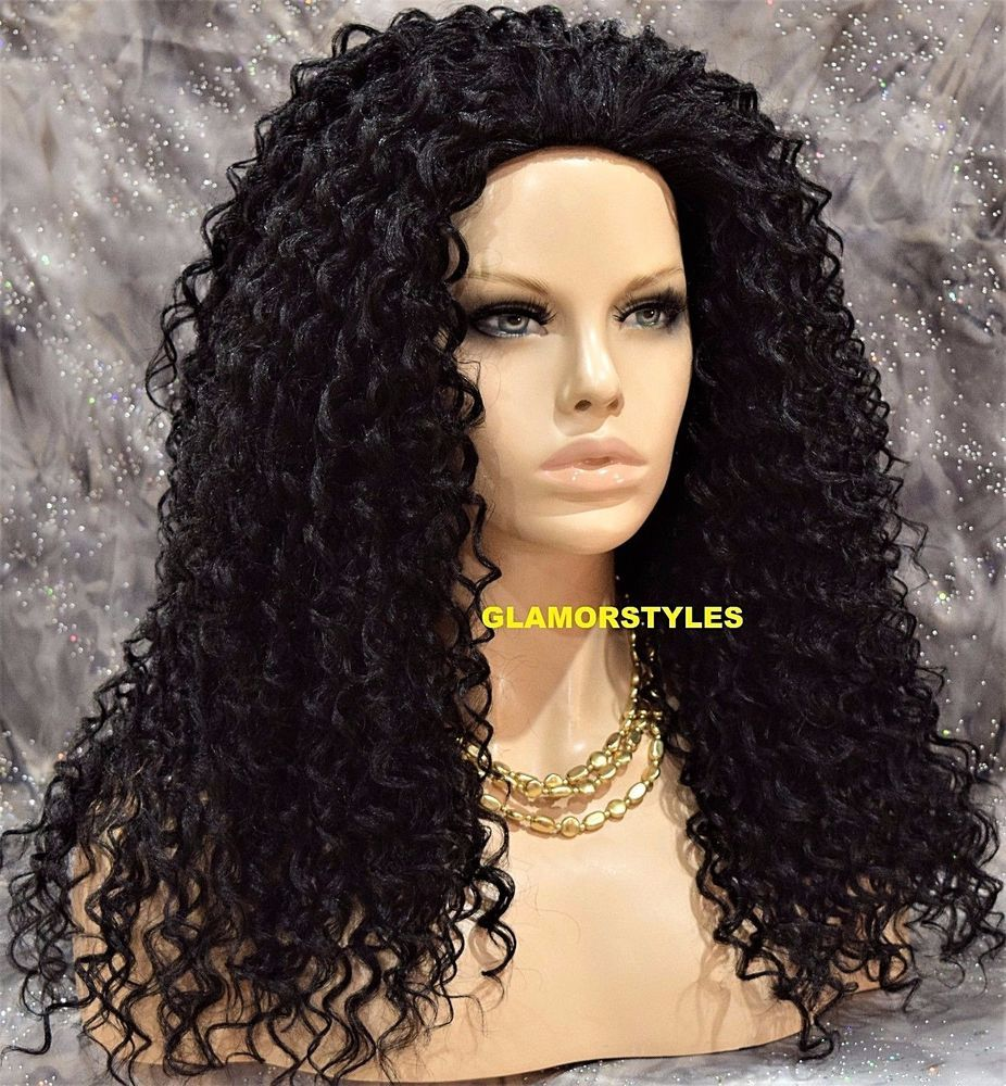 Details about Long Spiral Curls Layered Jet