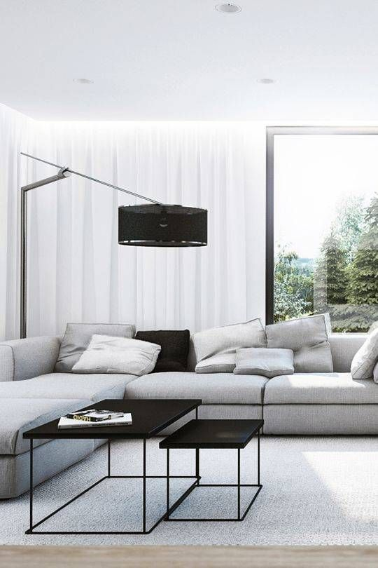 Staging For A Quick Sell Monochromatic Living Room Minimalist Living Room Interior Design