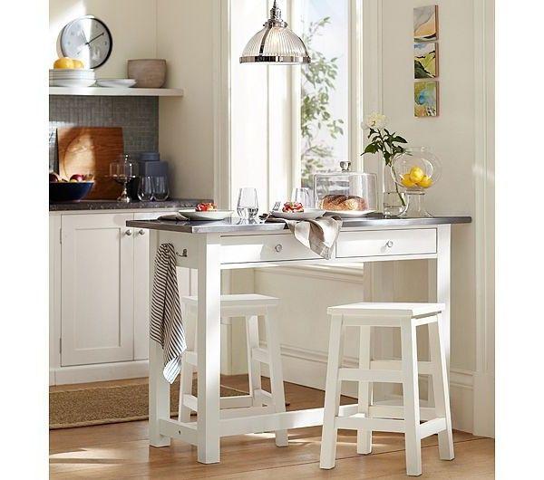 Super Lösung Für Kleine Raume   Als Küchenplatte Und Esstisch Zu Verwenden!