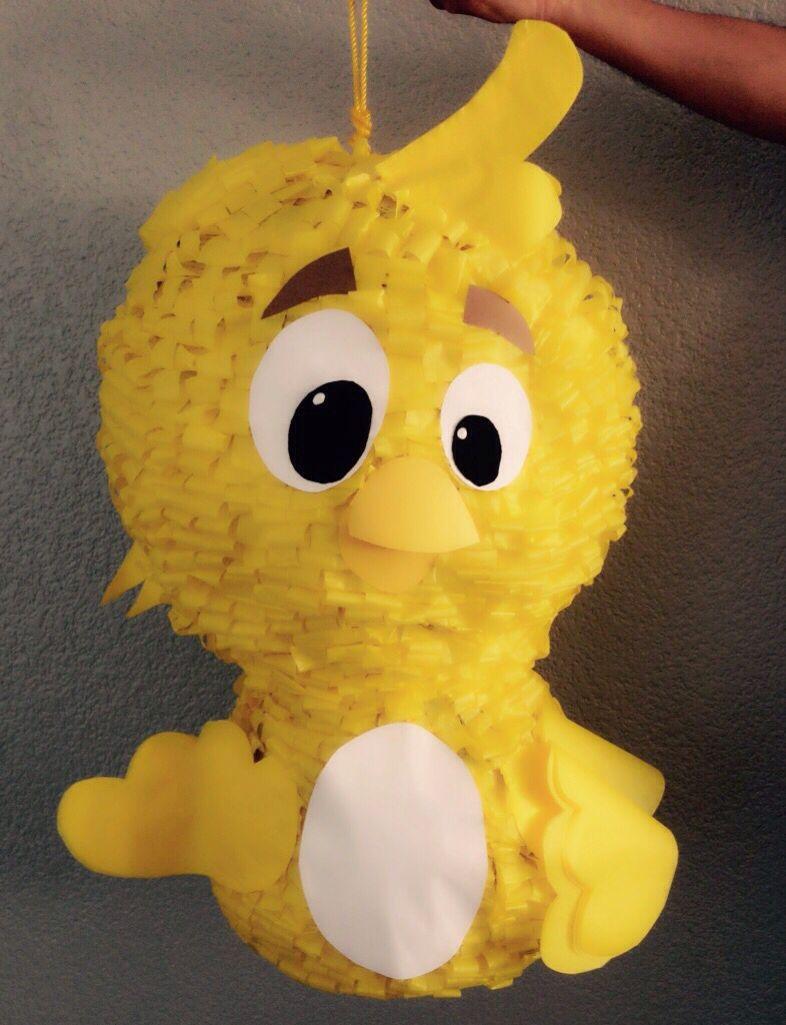 Piñata Pollito Amarillito Gallina Pintadita 400 pesos