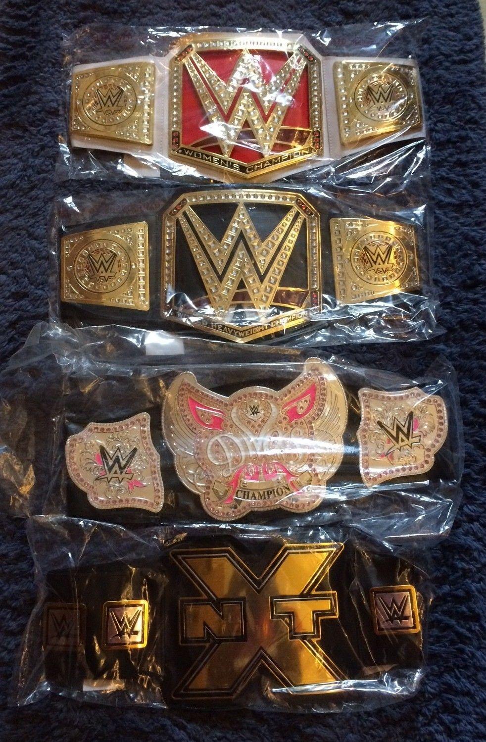 Mattel Belt for WWE Wrestling Figures Divas Championship