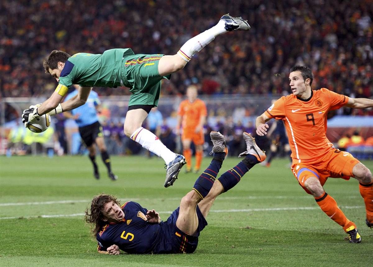 World Cup 2010 Finale Iker Casillas Soccer World Football Is Life