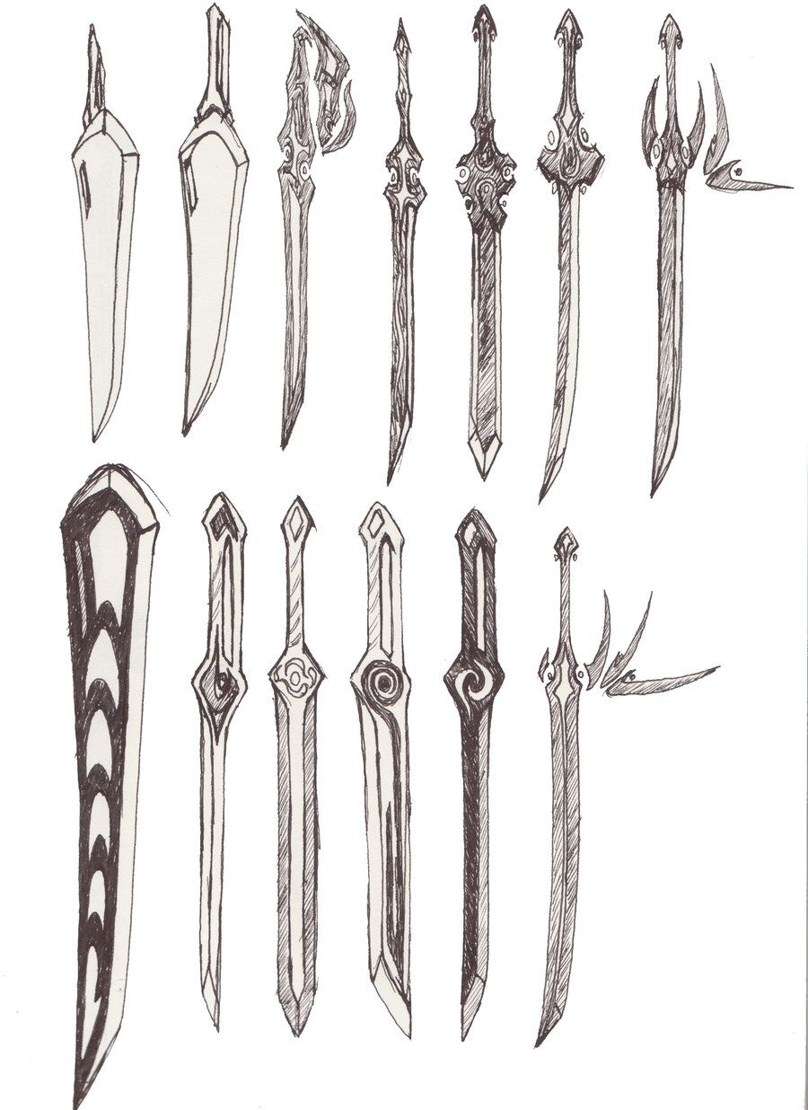 Two handed sword google search how to draw weapons how to draw armor