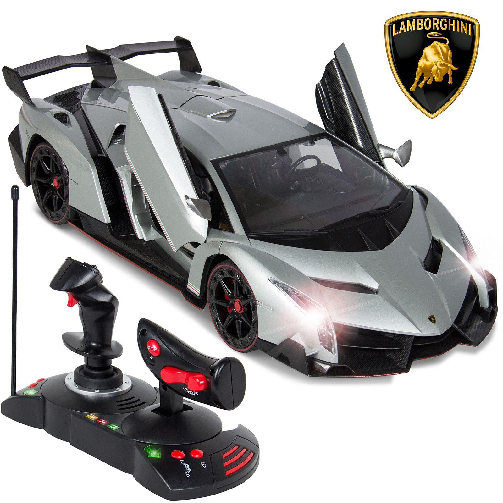Bcp 1 14 Kids Remote Control Lamborghini Veneno Rc Toy W Gravity Sensor Remote Control Cars Lamborghini Veneno Radio Controlled Boats
