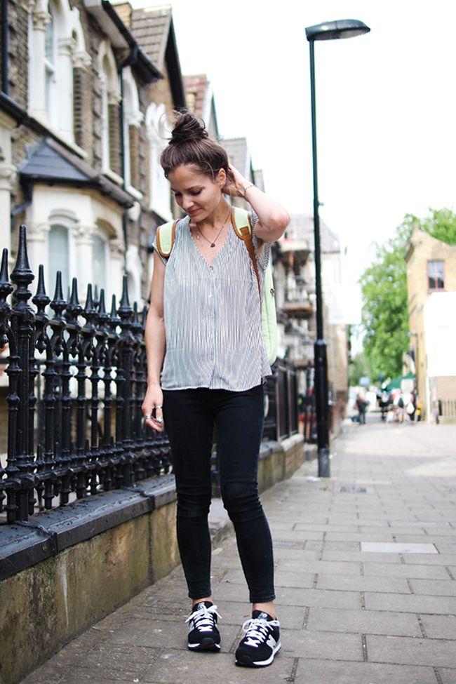 FYT & Co backpack | New Balance 574 | UK fashion blog