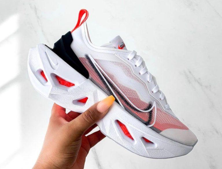 Nike Zoom X Vista Grind blanche Bright Crimson BQ4800-100 (couv ...